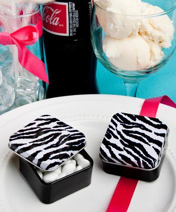 Zebra stripe design mint tins-Zebra stripe design mint tins