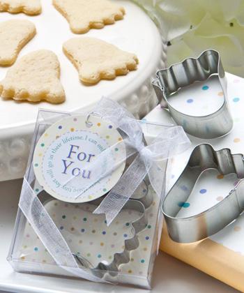 Baby Feet Cookie Cutters-Baby Feet Cookie Cutters