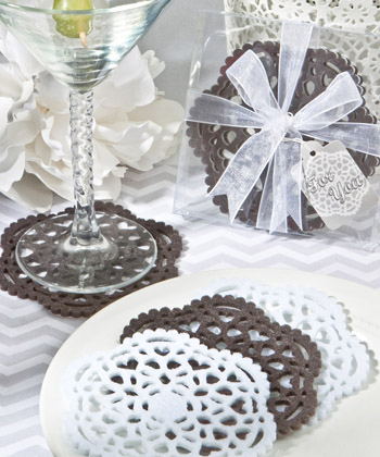 Lace-Like Felt Coaster Sets-Lace-Like Felt Coaster Sets