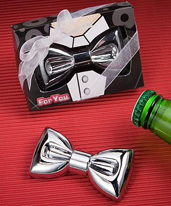 Festive bow tie design bottle openers-Festive bow tie design bottle openers