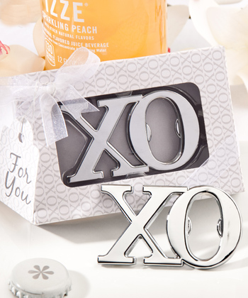 XO design bottle opener favors-XO design bottle opener favors