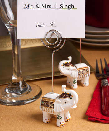 Good Luck elephant place card holders-Good Luck elephant place card holders, the card holder, good luck elephant, make wedding card holder, ideas for wedding card holders