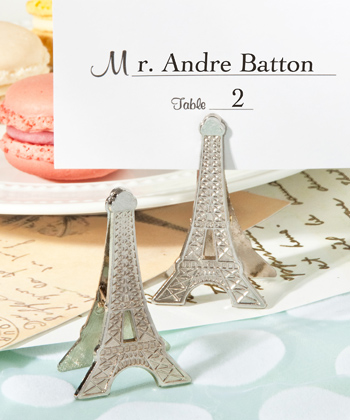 Perfectly Parisian memo/place card clips-Perfectly Parisian memo/place card clips