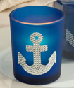 Spectacular Anchor Design Candle Favors-Anchor, Design, Candle, Favors, beach, wedding