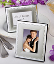 Two-tone silver metal place card/photo frames-placecards, reception card, place card holders, card place holders, wedding table names, placecard holders, wedding table numbers, place card holder, wedding table number ideas, wedding table cards
