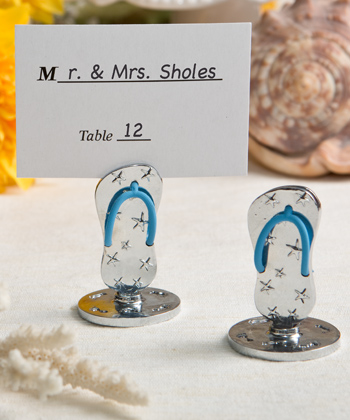 Flip Flop Themed place card and photo holders-Flip Flop Themed place card and photo holders