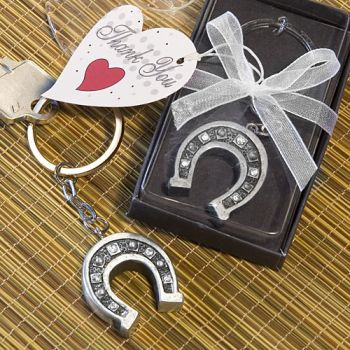 HORSESHOE KEY CHAIN FAVORS-HORSESHOE KEY CHAIN FAVORS