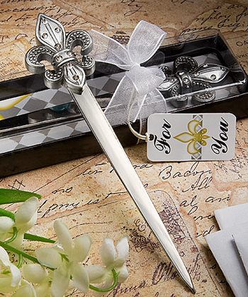 Exquisite Fleur Di Lis Letter Openers-Exquisite Fleur Di Lis Letter Openers