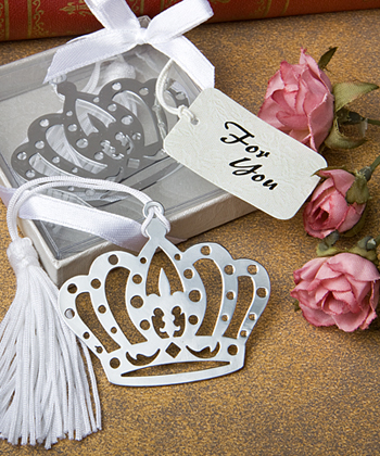Crown Design Bookmark Favors-Crown Design Bookmark Favors