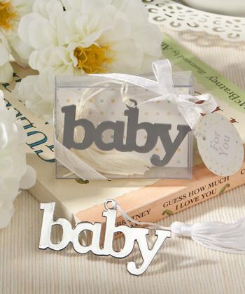 Adorable Baby Design Bookmark Favor-Adorable Baby Design Bookmark Favor