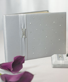 Platinum By Design Traditional Guest Book-Platinum By Design Traditional Guest Book