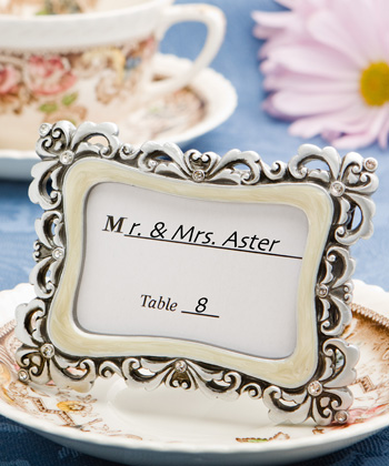 Flourish Design Place Card/Photo Frames-Flourish Design Place Card/Photo Frames