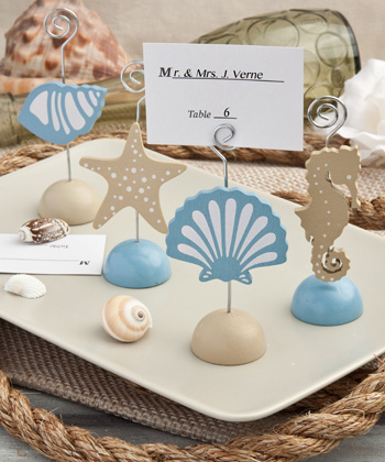 Magical Sea themed Place Card Holders-Magical Sea themed Place Card Holders, the card holder