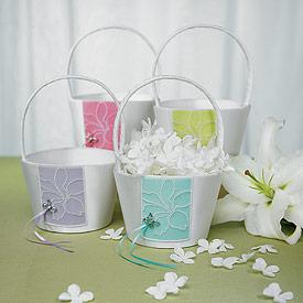 Butterfly Dreams Flower Girl Basket-