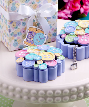 Little Buttons Collection curio box favor-Little Buttons Collection curio box favor