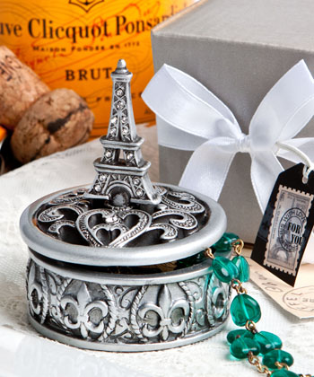 EIFFEL TOWER DESIGN CURIO BOX FAVORS-EIFFEL TOWER DESIGN CURIO BOX FAVORS