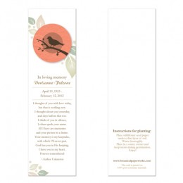 Birdwatcher Memorial Bookmarks-Birdwatcher Memorial Bookmarks