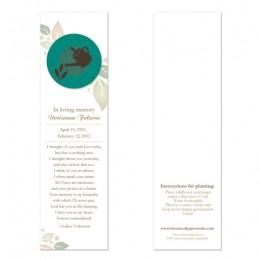Gardener Memorial Bookmarks-Gardener Memorial Bookmarks