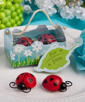 Ladybug magnet favors-Ladybug magnet favors