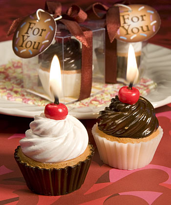 Yummy! Cupcake Candle Favors-Yummy! Cupcake Candle Favors