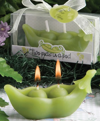 Two Peas In A Pod Collection Candles-Two Peas In A Pod Collection Candles