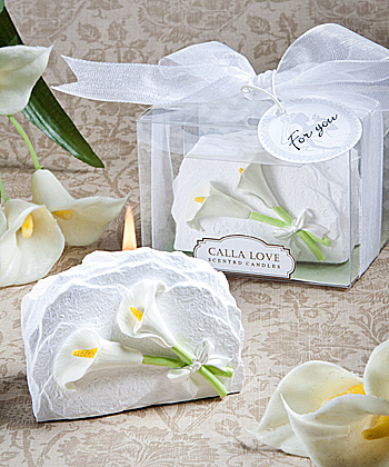 Unique calla lily candle-Unique calla lily candle