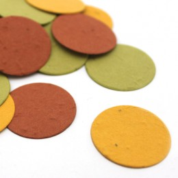 Autumn Circle Eco Confetti-Autumn Circle Eco Confetti