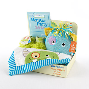 """Monster Party"" Three-piece Gift Set-Monster Party Three-piece Gift Set"