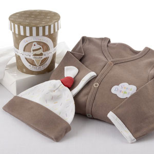 """Sweet Dreamzzz"" A Pint of PJ's Sleep-Time Gift Set, Chocolate-new born gift"