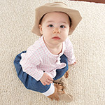 """Big Dreamzzz Baby Cowgirl"" Two-Piece Layette Set-Big Dreamzzz Baby Cowgirl Two-Piece Layette Set"