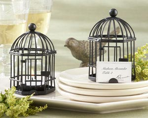 """Love Songs"" Birdcage Tea Light/Place Card Holder-placecards, reception card, place card holders, card place holders, wedding table names, placecard holders, wedding table numbers, place card holder, wedding table number ideas, wedding table cards"