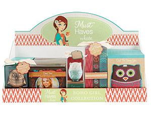 Boho Girl Collection Display-Boho Girl Collection Display