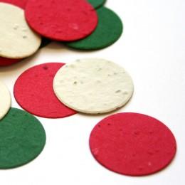 Christmas Circle Eco Confetti-Christmas Circle Eco Confetti