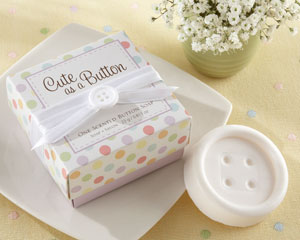 Cute as a Button Scented Button Soap-
