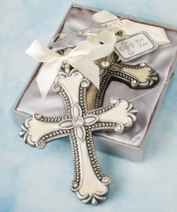 Decorative cross ornament favors-Decorative cross ornament favors,Favors For Communions, Favors For Christenings, Favors For Baptisms, Baptism & Christening Favors, promo items, giveaway ideas, Sunday school gifts, church marketing