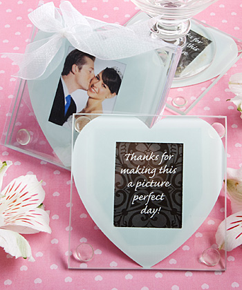 Heart design glass photo coaster favors-Heart design glass photo coaster favors