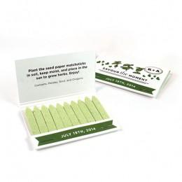 Herb Matchstick Garden Favor-Herb Matchstick Garden Favor