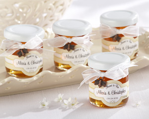 Meant to Bee Personalized Clover Honey -  Set of 12-Personalized Clover Honey Favors,baby shower party favors, ideas for baby shower favors, baby shower favors ideas, creative baby shower favors, baby showers favors