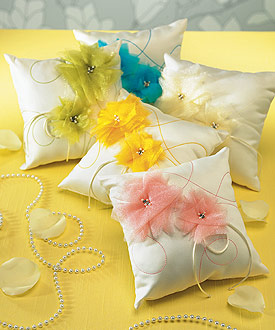 I Do . . . Color Ring Pillow-I Do . . . Color Ring Pillow