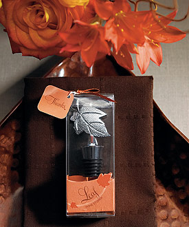Leaf Wine Stopper in Gift Packaging-