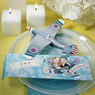 """Love is in the Air"" Gliders - Set of 12-Love is in the Air Gliders destination wedding favor"