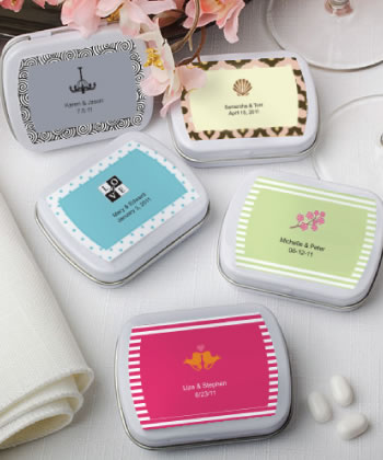 Personalized Expressions Collection mint tins-Personalized Expressions Collection mint tins