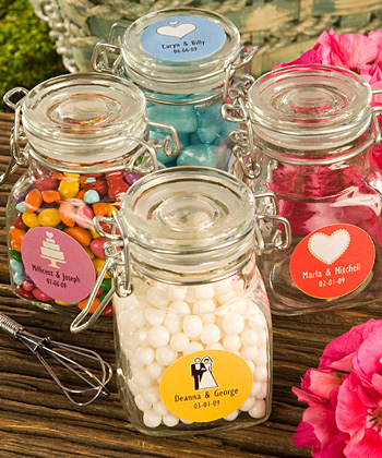 Personalized Expressions Collection apothecary jar favors-