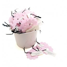 Bucket of Love Plantable Wedding Favor-Bucket of Love Plantable seeded paper Wedding Favor