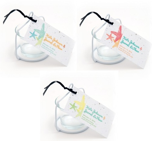 Plantable Starfish Favor Tag-Plantable Starfish Favor Tag