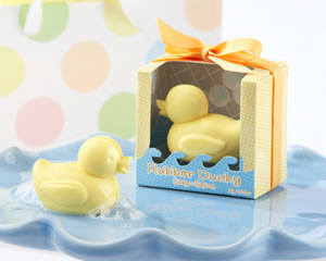 Rubber Ducky Soap-Rubber Ducky Soap baby shower favor