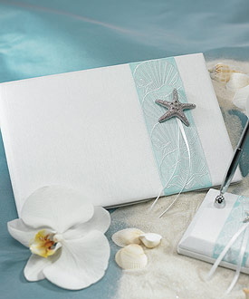 Seaside Allure Traditional Guest Book-Seaside Allure Traditional Guest Book