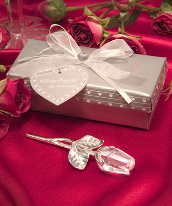 Choice Crystal Long Stem Rose-Choice Crystal Long Stem Rose