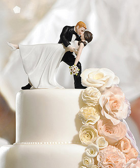 A Romantic Dip Dancing Couple Romantic Wedding Cake Topper-A Romantic Dip Dancing Couple Romantic Wedding Cake Topper