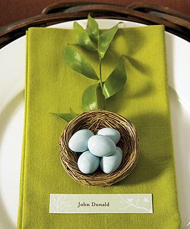 Miniature Natural Bird Nests Spring Wedding Favors-Miniature Natural Bird Nests Spring Wedding Favors